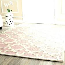 pink area rug for nursery attractive your home baby round rugs girl canada ru kids pink area rug