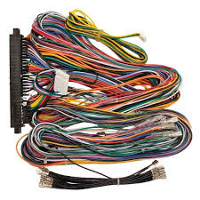 jamma plus board full cabinet wiring harness loom for jamma pcb boards