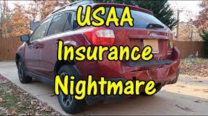 usaa auto insurance nightmare car accident no help for my subaru usaa problems