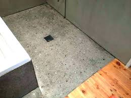 concrete shower floor cement google search pan diy base installation concrete bathroom sink floor