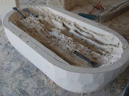 highly skilled artisans from durango mexico make this beautiful tub from a solid natural limestone 100 handcrafted definitely a piece of art and luxury