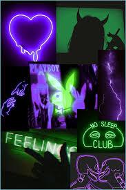 Purple Aesthetic Wallpaper Neon / Blue ...