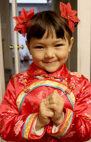 Childrens Hair Style traditional chinese childrens hairstyle two buns on the sides 2592 by wearticles.com