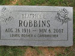Beatrice Eudora Luck Robbins (1911-2007) - Find A Grave Memorial