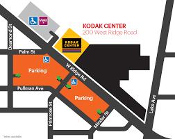 Kodak Center Parking Map Rochester Events 2019
