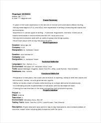 Experience Resume Mesmerizing Experience Resume Templates Experience Resume Template Experienced