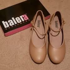 Balera Dancewear Caramel Dance Shoes Size 10am