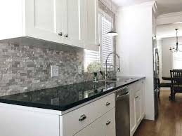 black granite countertops with white cabinets dark granite white cabinets