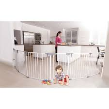 dreambaby royale converta in playard  wide barrier gate