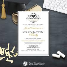 Graduation Announcements College Template Graduation Invitation College Printable Template Boy Girl