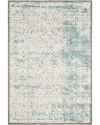 fascinating distressed area rug on don t miss this bargain safavieh passion watercolor turquoise