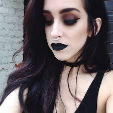 dark grunge black makeup look witchy makeup punk makeup grunge makeup gothic makeup