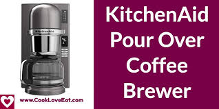 The kitchenaid siphon coffee brewer the kitchenaid siphon coffee brewer brings together the incredible flavours of siphon coffee brewing with easy, safe operation and no open flame. Kitchenaid Pour Over Coffee Brewer Review 2020