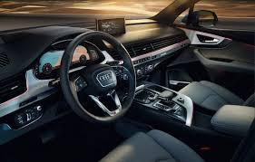 All new Audi interior