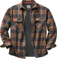 Archer Thermal Lined Shirt Jacket | Legendary Whitetails & High quality construction and detail make this insulated flannel a standout  Legendary® shirt jac. Features a 100% cotton yarn-dyed plaid, cotton/poly  blend ... Adamdwight.com