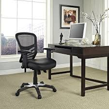 fully adjustable office chair. LexMod Articulate Mesh Office Chair With Fully Adjustable Black Vinyl Seat By LexMod: Amazon.in: Home \u0026 Kitchen