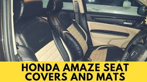 Honda Amaze Seat Cover Designs Honda Amaze Seat Covers Honda Amaze Accessories Best Car Seat Covers