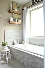modern decor furniture. Vintage Farmhouse Style Bathroom--mixing And Modern Decor Furniture