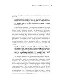conclusions and recommendations learning science in informal  page 305