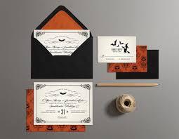 Halloween Wedding Invitations Halloween Wedding Invitations Printable Halloween Wedding Invites