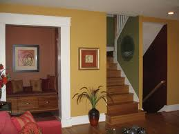 home interior painting color combinations. Interior Design Paint Color Combinations With Decorative Plant Home Painting A