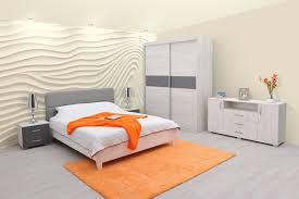 Schlafzimmer Komplett Set P Bermeo 5 Teilig Teilmassiv Farbe