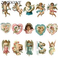 Online Shop <b>ZOTOONE</b> Cute Angel <b>Patch Iron</b> on Transfer <b>Patches</b> ...