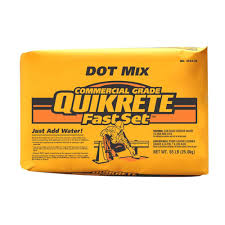 Quikrete 55lb. FastSet DOT Mix Cement-124456 - The Home Depot