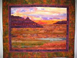 Southwest Strip Pieced Landscape Quilt, By Alice Rudolph | Quilts ... & Southwest Strip Pieced Landscape Quilt, By Alice Rudolph Adamdwight.com