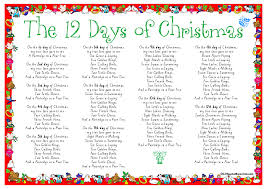 12 Days of Christmas Song