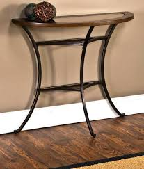 semi circular end tables circular side table