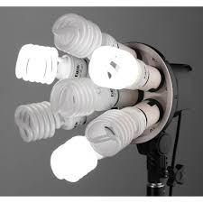 Raya Octa Fluorescent 7 Socket Fixture 1 Light Softbox Kit Raya Octa Fluorescent 7 Socket Fixture 1 Light Softbox Kit