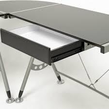 L Shaped Modern Desk Amazoncom Baxton Studio Elburn L Shaped Modern Computer Desk