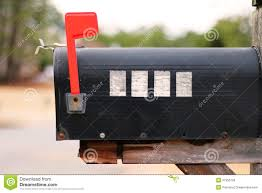 brick mailbox flag. Side View Of A Mailbox With Flag Raised Stock Image - Black, Ideas: 37955793 Brick