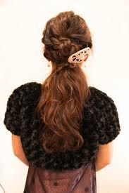 ヘアアレンジ提案お任せ 編み込み 髪型 波ウェーブ 結婚式 さくら市