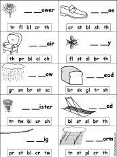 56 Free Phonics Worksheets and Phonemic Awareness Activities furthermore Blends Worksheets   Have Fun Teaching moreover Worksheets for all   Download and Share Worksheets   Free on further  besides  besides Consonant Blend Worksheets   All Kids  work also  further  moreover Worksheets for all   Download and Share Worksheets   Free on in addition Phonics Worksheets   Free Printables   Education likewise Beginning Blends 1   Worksheet   Education. on sound blends worksheets for kindergarten