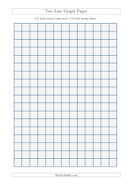 1 8 inch graph paper two line graph paper with 1 2 inch major lines and 1 8 inch minor