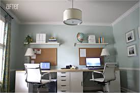 person home office. Plain Design Two Person Home Office Furniture Desk For Satisfying H