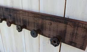 Rustic Wooden Coat Rack wooden wall coat rack processcodi 26