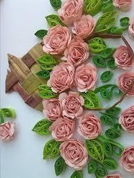 Paper Quilling Flower Baskets Paper Flower Baskets Under Fontanacountryinn Com