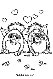 Kleurplaten Van Een Furby