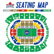 77 Prototypic Toronto Raptors Seats Chart