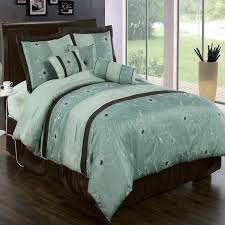 e4907006 tiffany blue bedding blue brown bedding set with blue fl pattern comforter set dark