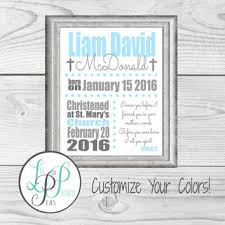 personalized baptism gift baptism keepsake christening gift baby boy baptism gift for