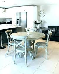 gray round kitchen table farmhouse dining amazing club for wood