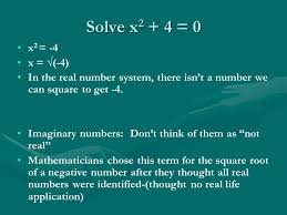 1 1 writing complex numbers purple math 2 book 3 solve x