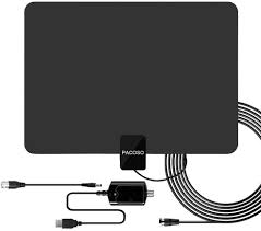 Flow Plus 60 Mile Range Designer Indoor Amplified Hdtv Antenna 2019 Latest Pacoso 65 100 Miles Digital Amplified Hd Tv Antenna Indoor Tv Antenna 4k Hd Freeview Life Local Channels All Type Television Local