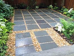 Backyard Stone Patio Design Ideas The Home Design  Stone Patio Backyard Patio Stones