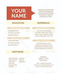 Free Creative Resume Template Unique Gallery Of Creative Resume Template Free Samples Examples Format