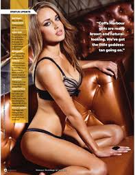 Brittni Rippon in Maxim Magazine Your Daily Girl